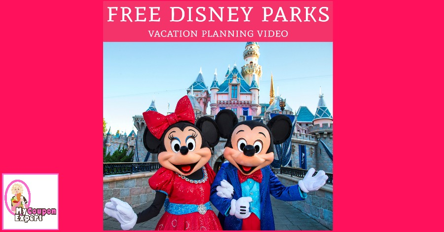 Free Disney Parks Video!!  Plan your vacation, my kids LOVED these!