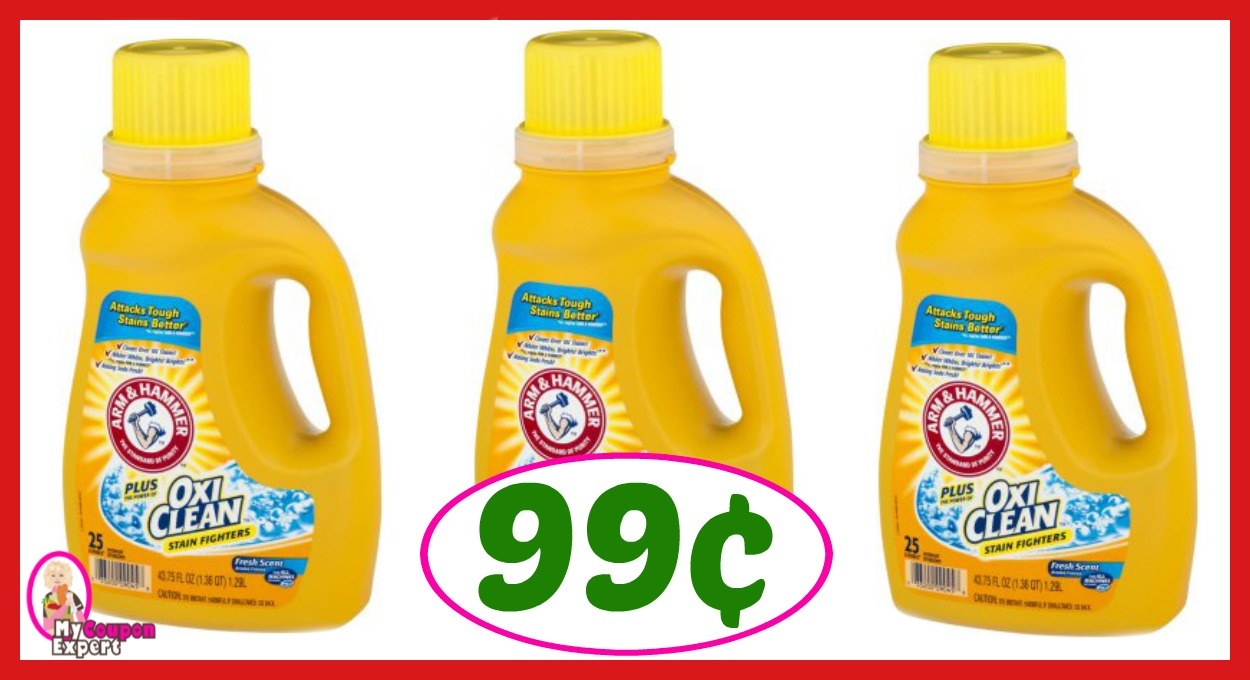 CVS Hot Deal Alert!! Arm & Hammer Liquid Detergent Only 99¢ after sale and coupons