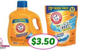 Hot Arm & Hammer Detergent deal at PUBLIX!!