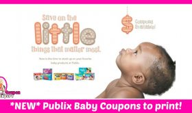 NEW Publix BABY BOOKLET for March and its PRINTABLE!