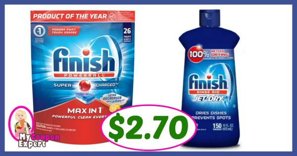 Finish Coupons and Sale
