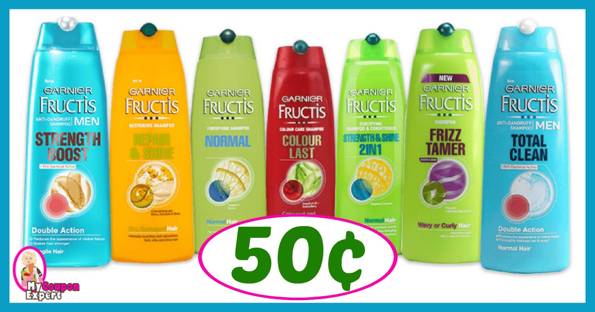 CVS Hot Deal Alert!! Garnier Fructis Shampoo or Conditioner Only 50¢ after sale and coupons