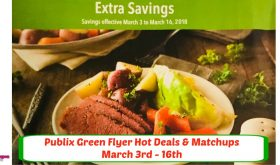 Publix GREEN Flyer Hot Deals & Matchups March 3rd-16th!