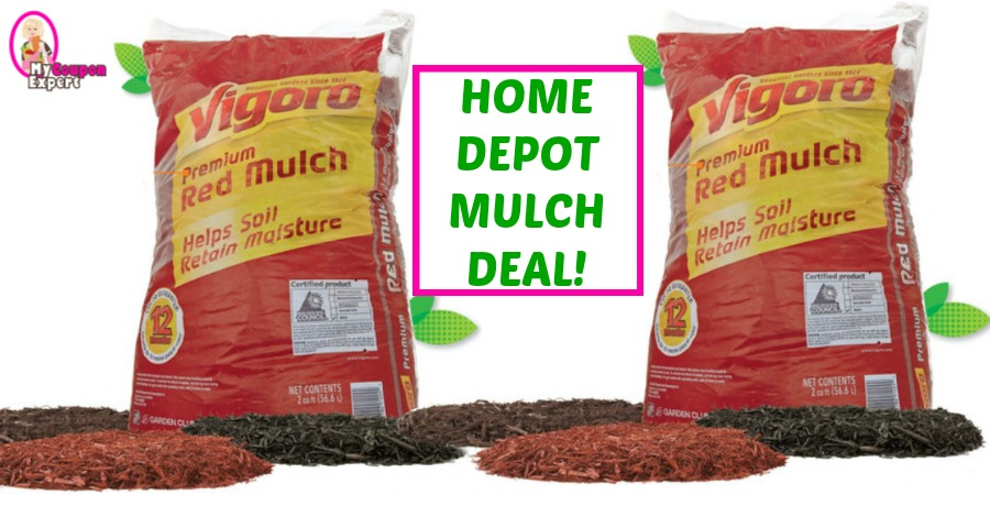 *HOT* MULCH DEAL at Home Depot starting March 1st!!