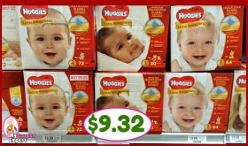Huggies BOXED Diapers just $9.32 NOW at Publix!