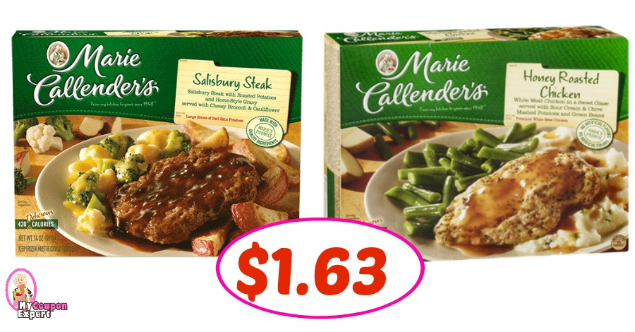 Marie Callender Meals just $1.63 each at Winn Dixie!