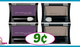 CVS Hot Deal Alert!! Maybelline Expert Wear Eyeshadow Only 9¢ after sale and coupons