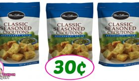 Mrs Cubbison's Croutons just 30¢ each at Publix!!