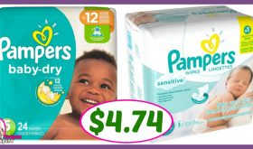 CVS Hot Deal Alert!! Pampers Jumbo Pack Diapers & Wipe Refills Only $4.74 after sale and coupons