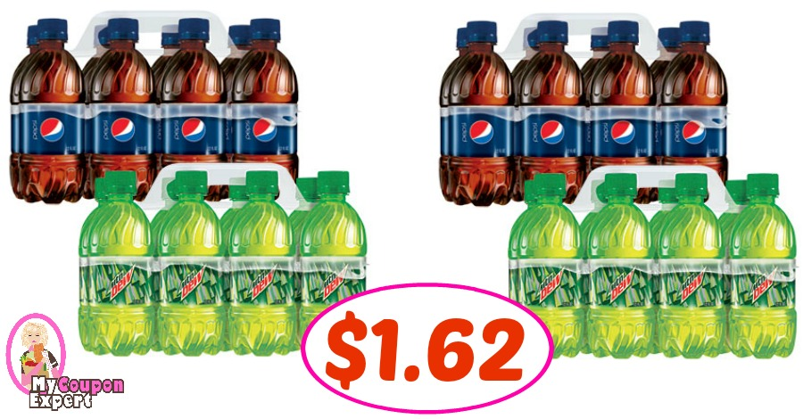 Pepsi 8 pack, 12 oz just $1.62 at Publix for some!!