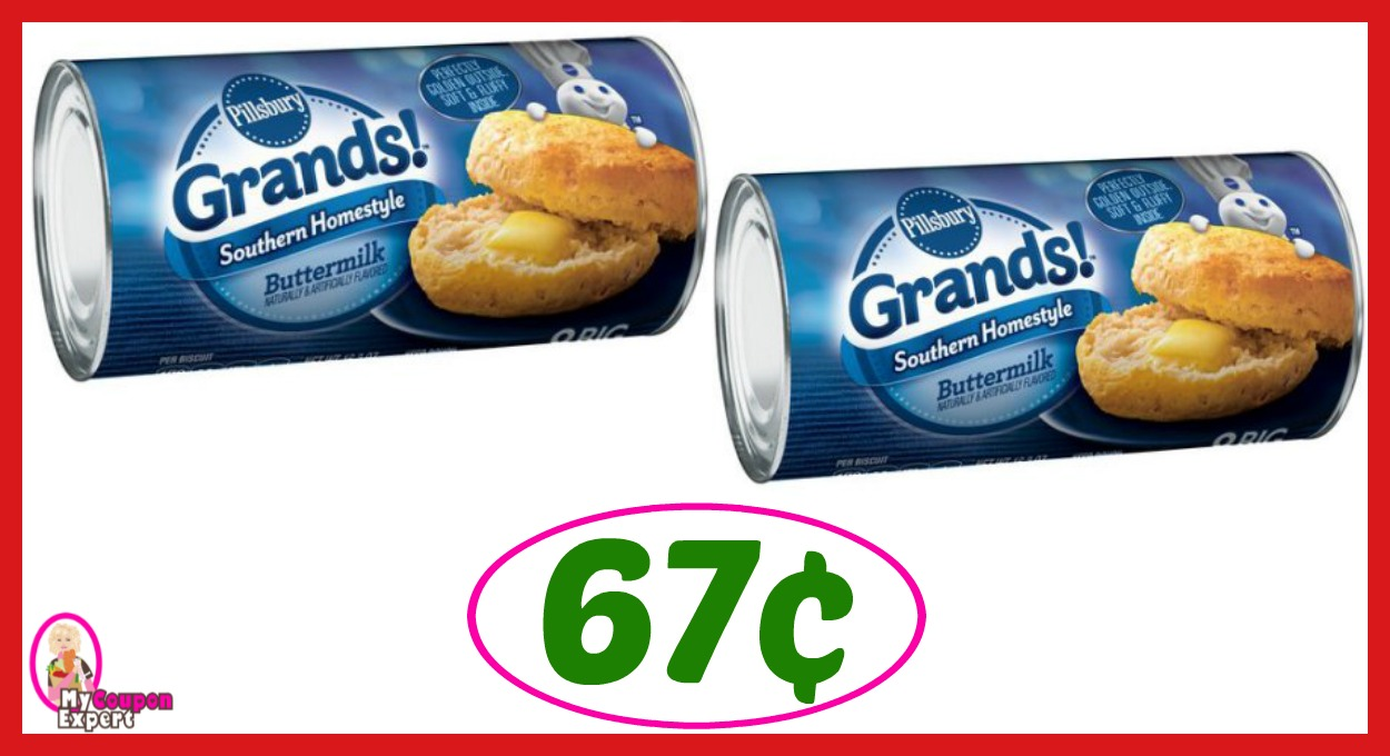 Winn Dixie Hot Deal Alert! Pillsbury Products Only 67¢ after sale and coupons