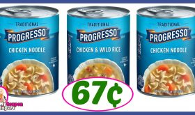 CVS Hot Deal Alert!! Progresso Soup Only 67¢ after sale and coupons