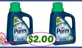 Purex Detergent $2.00 each at Publix!