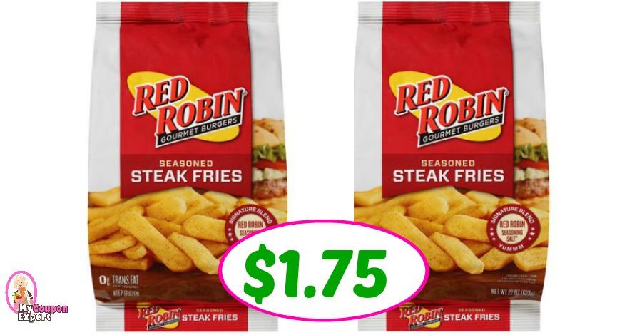 Red Robin Fries just $1.75 each at Winn Dixie!