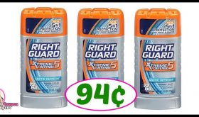 Right Guard Deo just 94¢ at Publix!