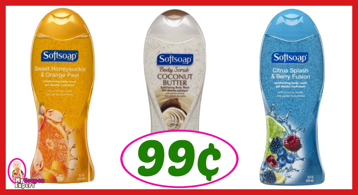 CVS Hot Deal Alert!! Softsoap Body Wash Only 99¢ after sale and coupons