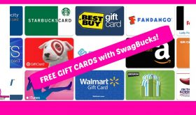 Check this out!  Earn FREE GIFT CARDS with SwagBucks!