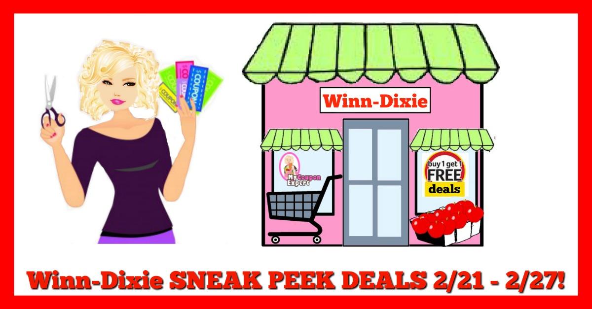 Winn Dixie HOT DEALS February 21st – 27th!!