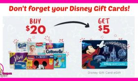 *REMINDER* Submit your receipts for your Disney Gift Cards!