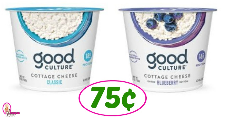 Good Culture Cottage Cheese Just 75 162 Each At Publix