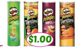 Pringles Big Cans just $1.00 at Publix!