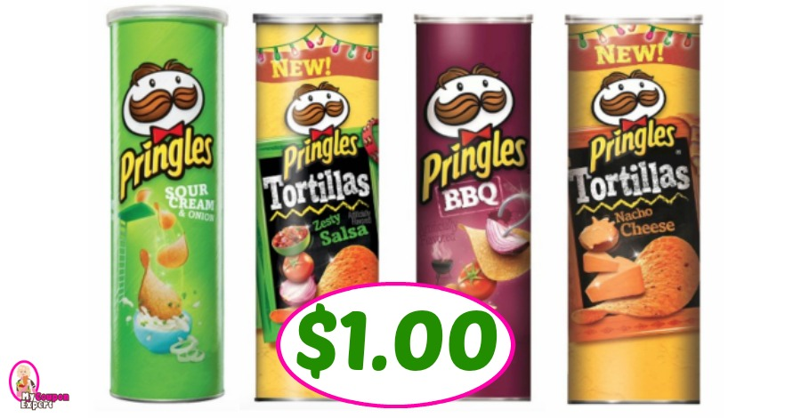 graphic relating to Pringles Printable Coupons known as Pringles Massive Cans exactly $1.00 at Publix! ·