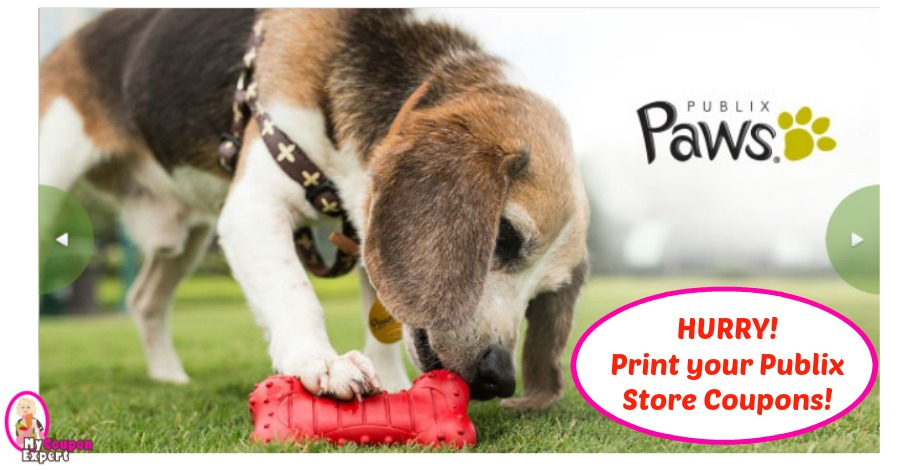 Publix Paws STORE Coupons for March 2018! Hurry!