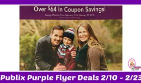 Publix Purple Flyer Deals February 10th – 23rd!