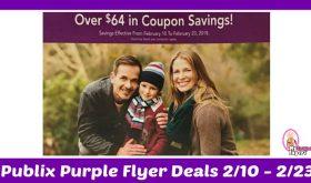 Publix Purple Flyer Deals February 10th – 23rd!