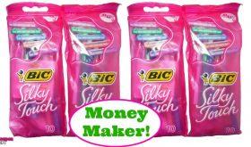 Bic Silky Touch Razors FREE plus a Money Maker at Publix!