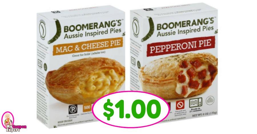 Boomerang Pies just $1.00 at Winn Dixie this week!