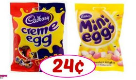Cadbury and Hershey's Easter Candy just 24¢ at CVS!