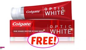 Colgate Optic White FREE at CVS!!