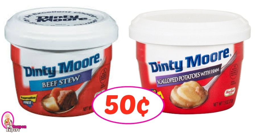 Dinty Moore Bowls just 50¢ each at Winn Dixie!