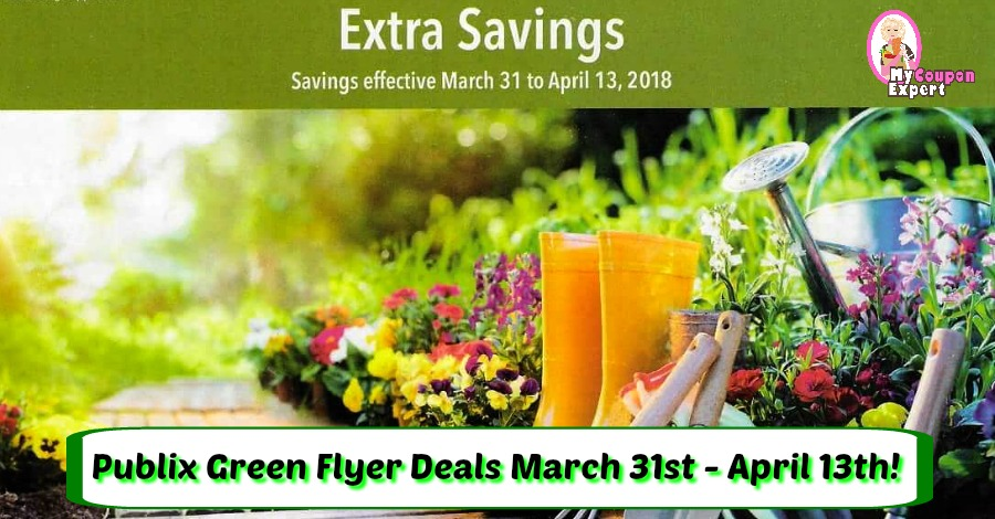 Publix Green Flyer Deals March 31st – April 13th!