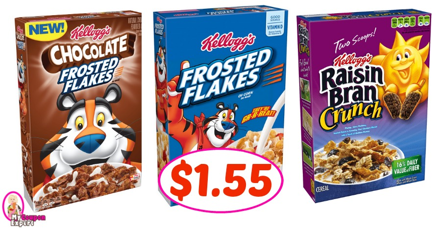 Kellogg's Cereal Deal at Publix!! Check it out!