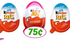 Kinder Joy Eggs just 75¢ at Publix!  Great for Easter!
