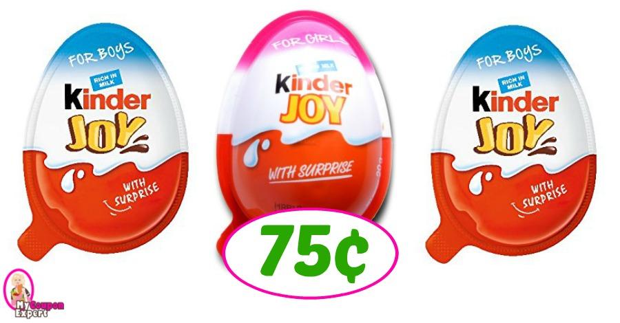 Kinder Joy Eggs just 75¢ at Publix!  Great for Easter!