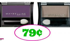 Maybelline Eye Shadow just 79¢ at Publix!