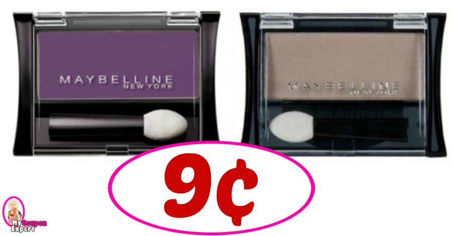 WOW! Maybelline Cosmetics as low as 9¢ this week at CVS!