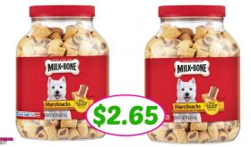 Milk-Bone MaroSnacks BIG JUG just $2.65 each at Publix!