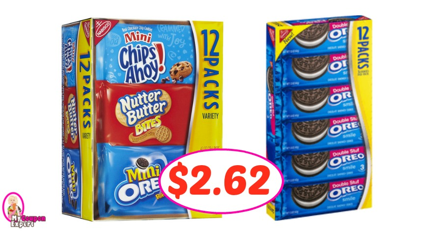 Nabisco Single Serve just $2.62 each box at Winn Dixie!