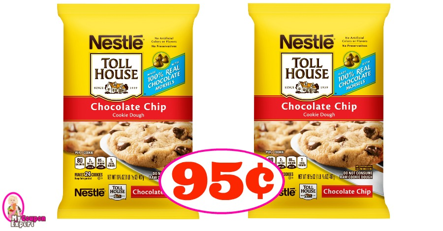 Nestle Toll House Cookies just 95¢ each at Publix!