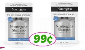 Neutrogena Shampoo just 99¢ at Publix!