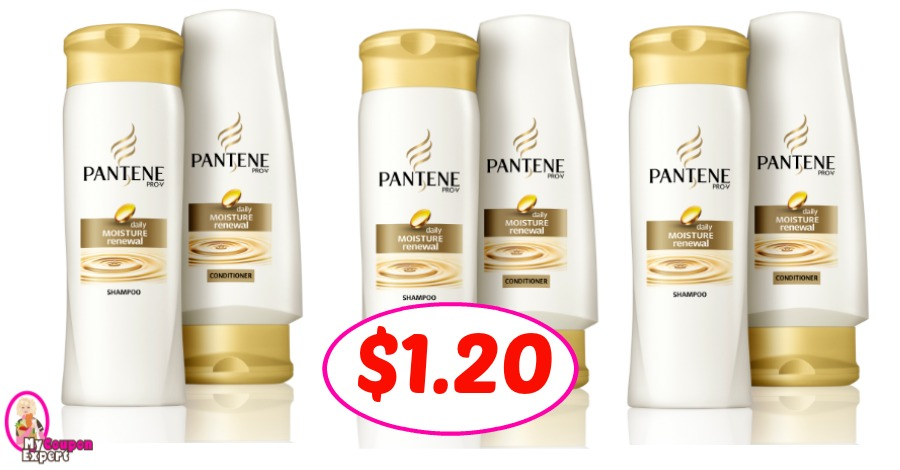 Pantene Shampoo & Conditioner $1.20 at Publix!