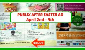 Publix HOT DEALS April 2nd – 4th THREE DAY Ad!