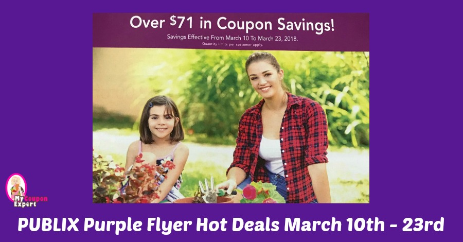 Publix Purple Flyer Hot Deals March 10th – 23rd!