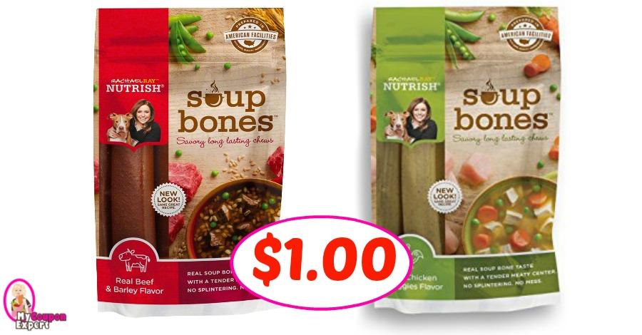Rachael Ray Soup Bones Dog Treats $1.00 at Publix!