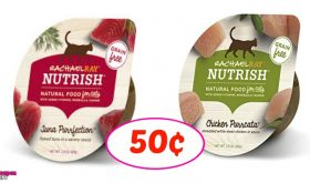 Rachael Ray Nutrish for Cats just 50¢ each at Publix!