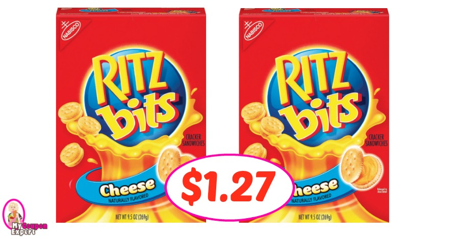 Ritz Sandwich Crackers just $1.27 at Winn Dixie!